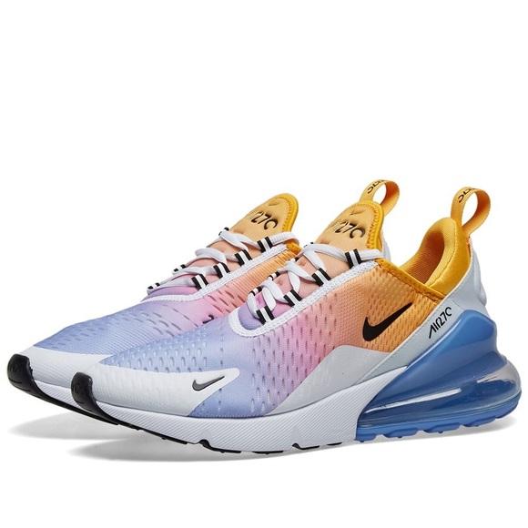 Womens Pastel Rainbow Nike Airmax 27